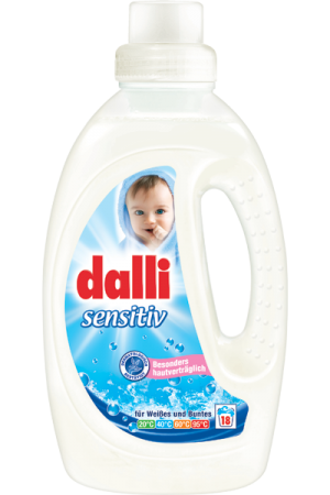 Dalli sensitive mosógél