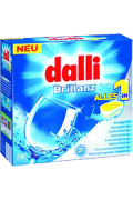 Dalli Brillanz mosogatógép tabletta All in 1 28 darab